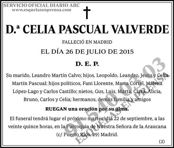 Celia Pascual Valverde